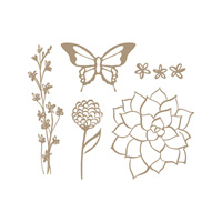 Nature's Perfection Clear Stamp Set