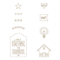 You Brighten My Day Clear Stamp Set