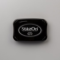 Jet Black StazOn Pad by Stampin' Up!