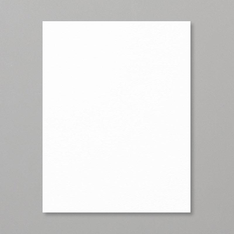 "Shimmery White 8-1/2"" x 11"" Cardstock"