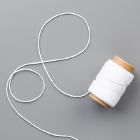 Whisper White Solid Baker's Twine