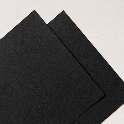 """Basic Black 12""""x12"""" Cardstock"""
