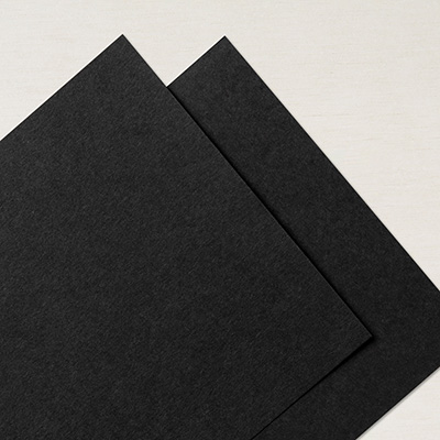 Basic Black 12 X 12 Smooth Card Stock
