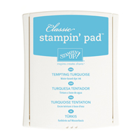 TEMPTING TURQUOISE CLASSIC STAMPIN' PAD Price: $6.50