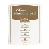 SOFT SUEDE CLASSIC STAMPIN' PAD Price: $6.50