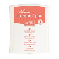CALYPSO CORAL CLASSIC STAMPIN' PAD Price: $6.50