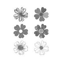Flower Shop Clear-mount Stamp Set