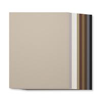 Neutrals 8-1/2 x 11 Cardstock