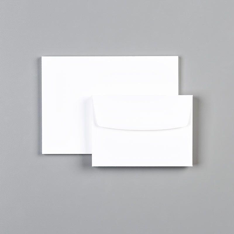 Whisper White Note Cards & Envelopes