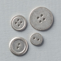 Silver Basic Metal Buttons