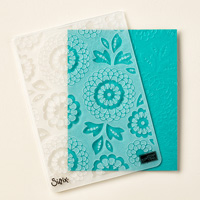 Lovely Lace Textured Impressions Embossing Folder