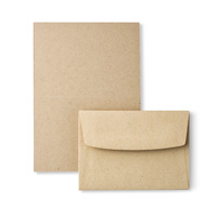 Crumb Cake Note Cards  Envelopes