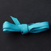 "Island Indigo 1/4"" Cotton Ribbon"