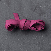 "Rich Razzleberry 1/4"" Cotton Ribbon"