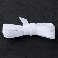 "Whisper White 1/4"" Cotton Ribbon"