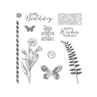 Butterfly Basics Photopolymer Stamp Set