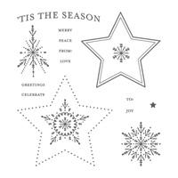 Many Merry Stars Photopolymer Stamp Set