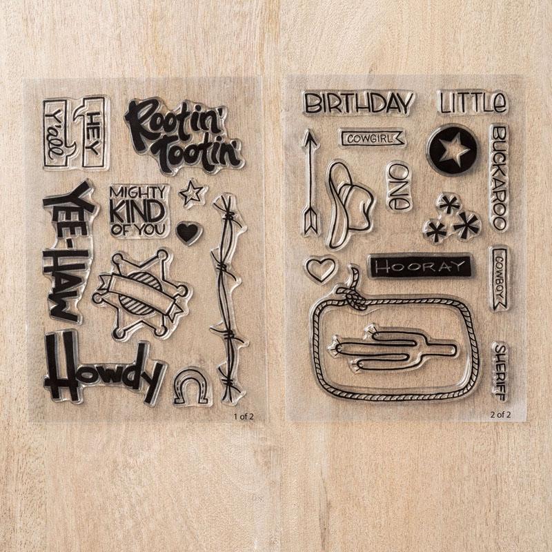 Yee-haw Photopolymer Stamp Set