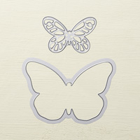 Bold Butterfly Framelits Dies by Stampin' Up!