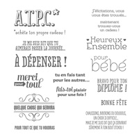A.T.P.C. Photopolymer Stamp Set (French) by Stampin' Up!