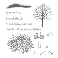 Arbre protecteur Photopolymer Stamp Set (French) by Stampin' Up!