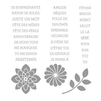 Tellement Toi Photopolymer Stamp Set (French) by Stampin' Up!