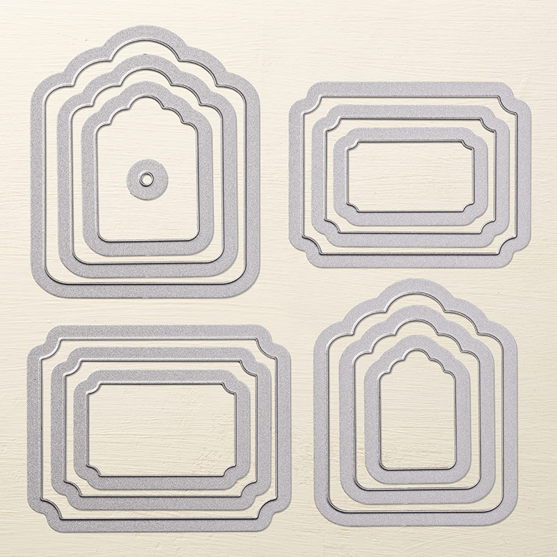 Tags & Labels Framelits Dies, Stampin' Up!