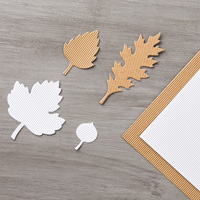 Kraft and White Corrugated Paper  by Stampin' Up!