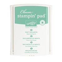 Mint Macaron Classic Stampin' Pad  by Stampin' Up!