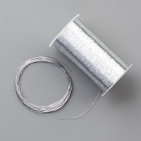 Metallic Thread Silver