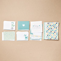 Hello Baby Boy Project Life Card Collection