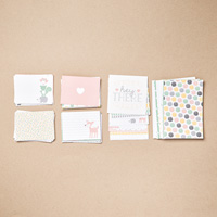 Hello Baby Girl Project Life Card Collection  by Stampin' Up!