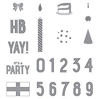 Birthday Yay Photopolymer Stamp Set by Stampin' Up!