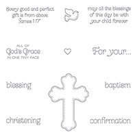 All God's Grace Wood-Mount Stamp Set