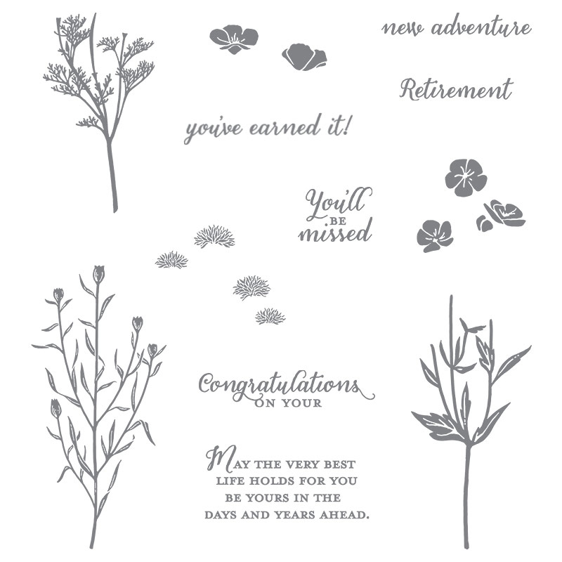 Wild About Flowers stamp set, Stampin' Up!