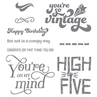 That Thing You Did Photopolymer Stamp Set by Stampin' Up!