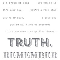 Words of Truth Wood-Mount Stamp Set by Stampin' Up!