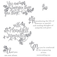 Heartfelt Sympathy Photopolymer Stamp Set by Stampin' Up!
