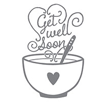 Get Well Soup Wood-Mount Stamp Set by Stampin' Up!