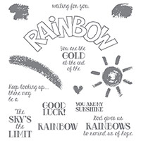 Over the Rainbow Photopolymer Stamp Set by Stampin' Up!