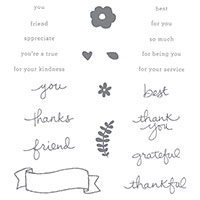 Endless Thanks Stamp Set
