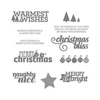 Christmas Bliss Photopolymer Stamp Set