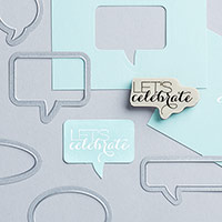 Sumthin' With Bubbly Words Clear-Mount Bundle