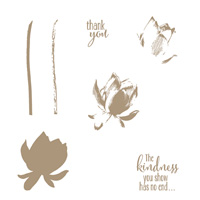 Lotus Blossom Photopolymer Stamp Set