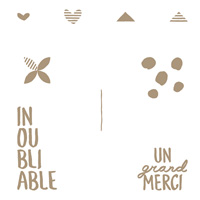 Beaux Souvenir Clear Stamp Set (French)