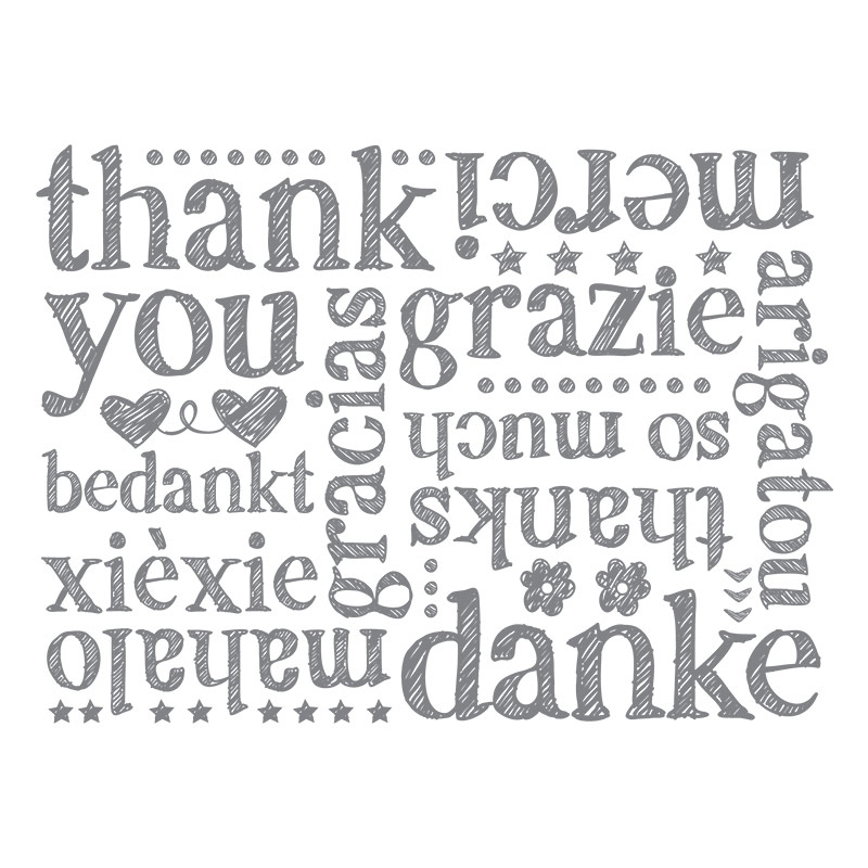 A World of Thanks Background stamp, Stampin' Up!