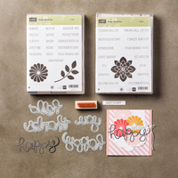Crazy about You Wood-Mount Bundle by Stampin' Up!