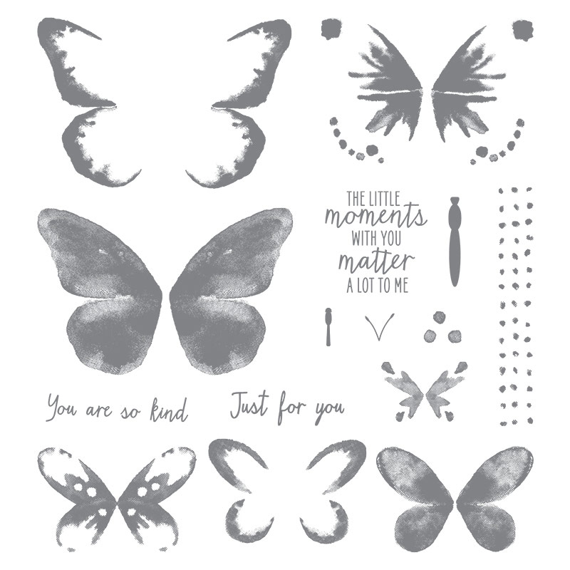 Watercolor Wings, Stampin' Up!