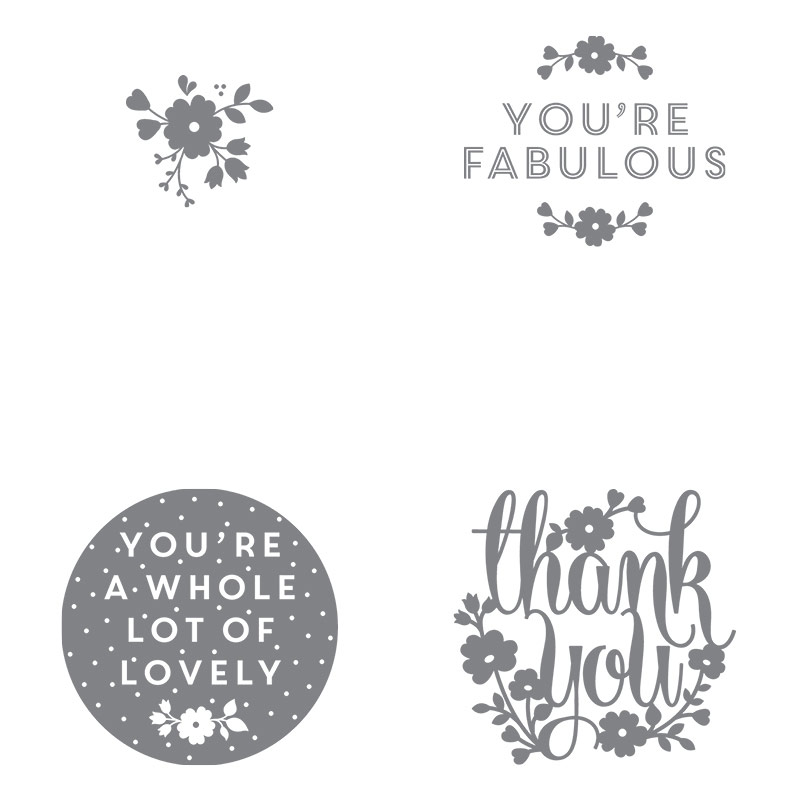 A Whole Lot of Lovely stamp set, Stampin' Up!