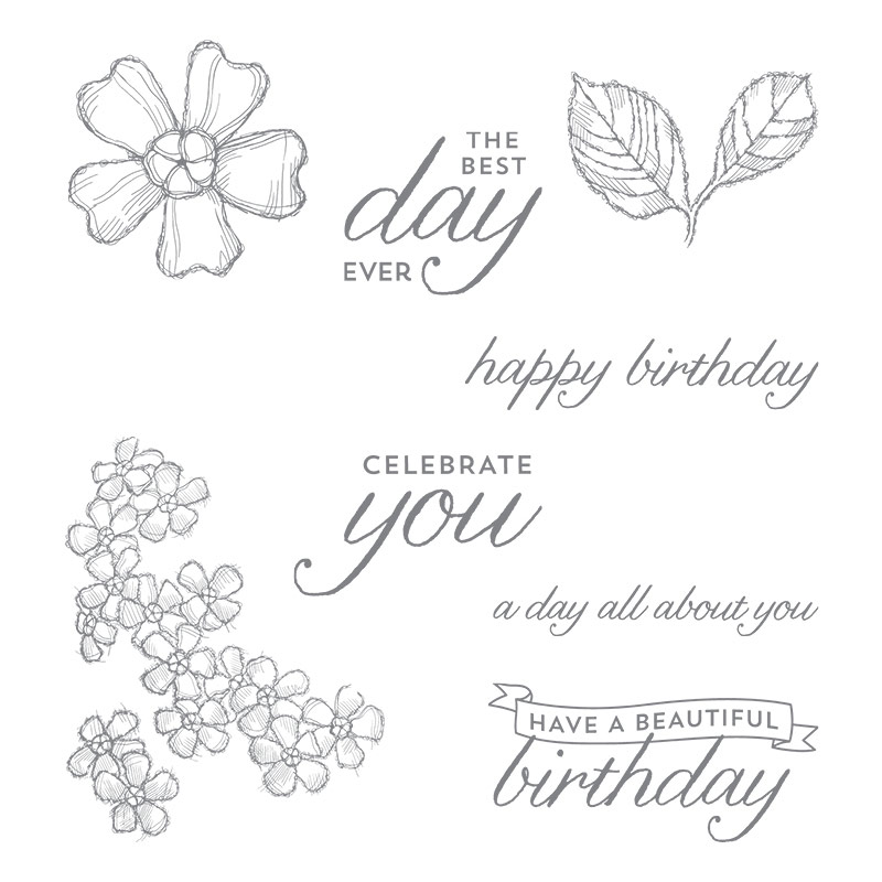 Birthday Blossoms, Stampin' Up!